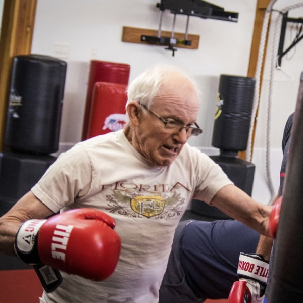 Parkinsons Therapy Classes at Island MMA in Victoria, B.C.